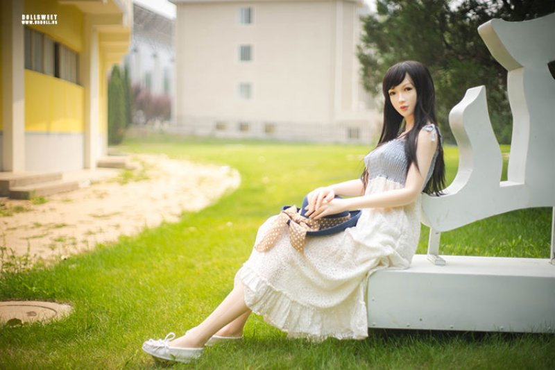 Doll Sweet 168 Plus body in LPink skin color with Jiayi head