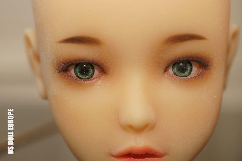 Grüne Augen und Hautton Yellow - Doll Sweet Nina Kopf